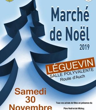 Marché de Noël de Léguevin le 30 novembre 2019