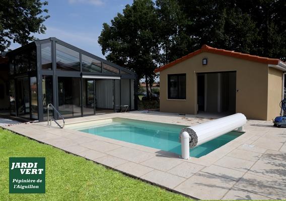 Construction d'un pool-house ou local technique à Saint-Lys
