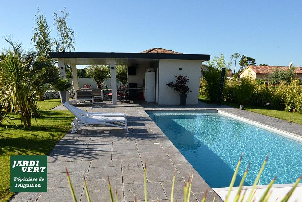 Construction d'un pool-house à Fonsorbes