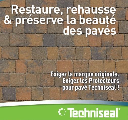 Protection de votre pavage ou dallage béton TECHNISEAL - Pépinière de l'Aiguillon jardinerie à Toulouse