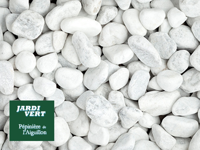Vente de galets blancs en sac